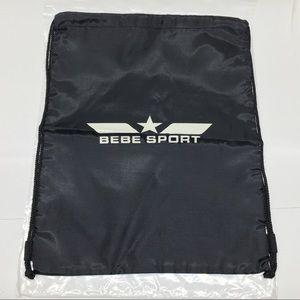 BEBE SPORT -  Gym Sack Drawstring Bag New!